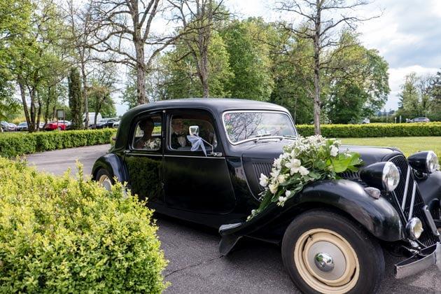 location de voiture de mariage à Dijon