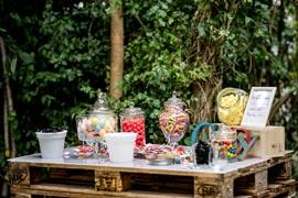 wedding planner à Dijon - candy bar