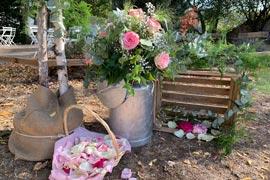 wedding planner à Dijon - décoration de fleurs